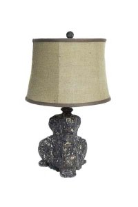 Capital Brown Table Lamp & Shade