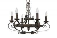 Bristol Black Copper Chandelier
