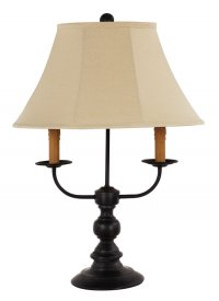 "Bayfield Black 26"" Table Lamp"