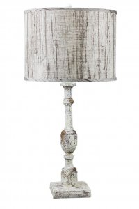 "Harlan 30"" Table Lamp with Planks Shade"