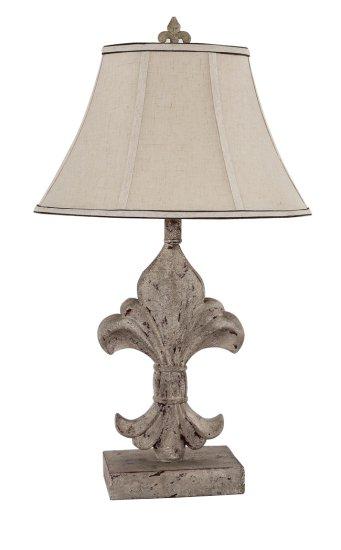 Lovely Fleur De Lis 14 Accent Lamp [L2073A-UP1] : Wholesale Lamps, Shades  KG76