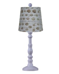 "Townsend White 21"" Table Lamp, Speckled Eggs"