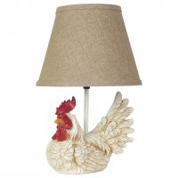 "Gallo 18"" Table Lamp, Jefferson Linen Shade"