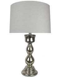 "Paris Mercury Glass 29"" Table Lamp & Shade"