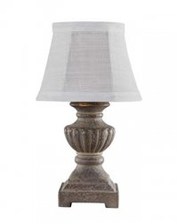 "Chateau 12"" Accent Lamp Grey"