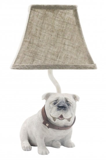 Tank the bull dog 12accent lamp l2700wh up1 wholesale lamps larger image aloadofball Gallery