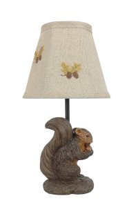 "Nutty the Squirrel12"" Accent Lamp"