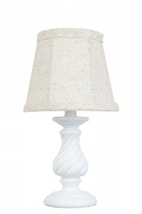 "Mini Twist 12"" Accent Lamp White"