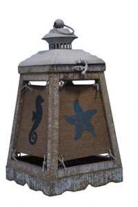 "Cape Lantern White 13"" Accent Lamp"