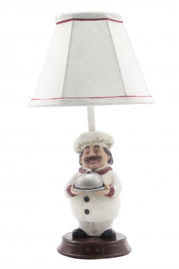 Chef surprise 16 accent lamp l2802 up wholesale lamps shades larger image aloadofball Choice Image