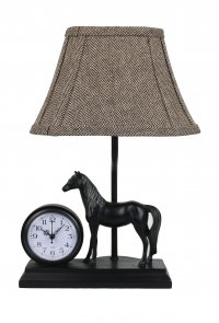 "Winning Time 12"" Accent Lamp with Clock"