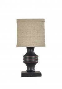 Arno Black Accent Lamp