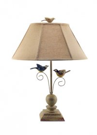 Fly Away Together Bird Lamp
