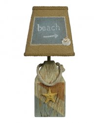 "Starfish Buoy Coastal 14"" Accent Lamp"