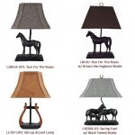 Horse Accent and Table Lamp Prepack