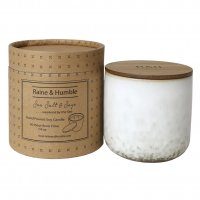 Sea Salt and Sage Candle, 2 wick, 50 hr burn time