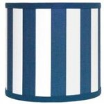 Canopy Navy Stripe Shade