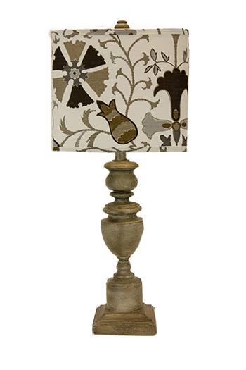 Matching Brass Floor And Table Lamps Matching Pair Of