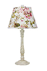 Nashville Table Lamp with Rose Floral Shade