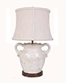 Floras Vase & Table Lamp with Shade