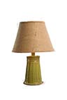 Cookie Sea Foam Green Ceramic Table Lamp with Shade