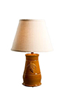 Romana Yellow Ceramic Table Lamp and Shade