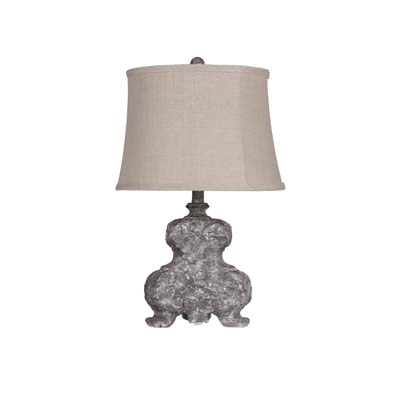 Capital grey 25 table lamp shade l2583gy u1 wholesale lamps capital grey 25 table lamp shade larger image mozeypictures Gallery