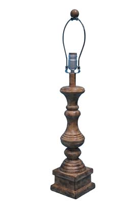 Austin Brown 29 Table Lamp Base Only L2705bn Whole Lamps Shades Bulbs Ahs Lighting Wholer Value Priced Accent Floor