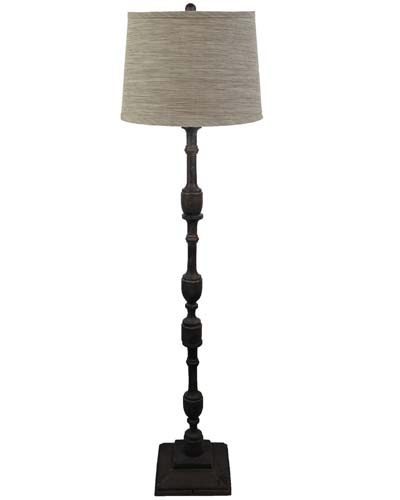 Harlan dark grey 60 floor lamp soap stone shade l809dg u1 larger image aloadofball Image collections