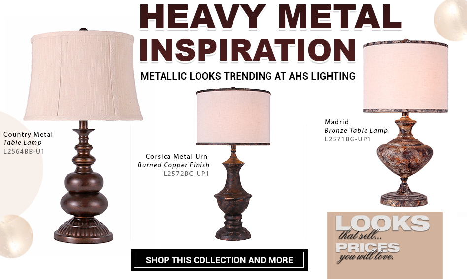 Shop our metal collection!
