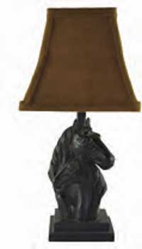 Mare & Foal Accent Horse Lamp