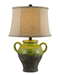 Lyon Green Ceramic Table Lamp