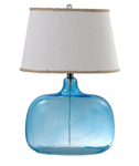 "Spa Glass 24"" Table Lamp"