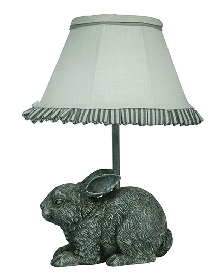 Garden bunny 13 accent lamp l2121cn up1 wholesale for Lamp shades austin