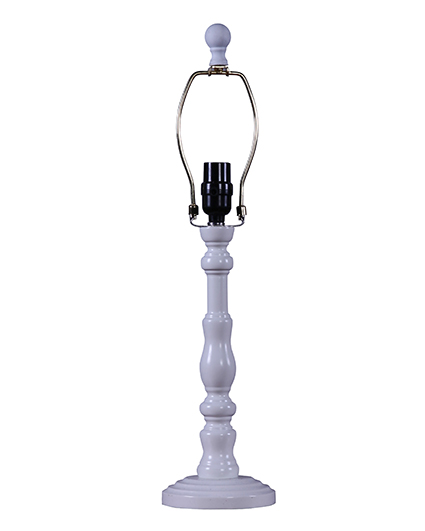 Townsend white 21 table lamp base l2390wh wholesale for Table lamp bases wholesale