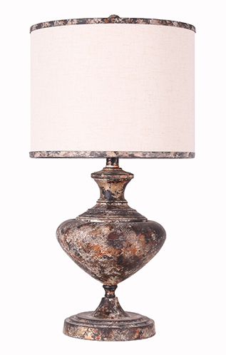 Madrid metal bronze 31table lamp with matching shade for Lamp shades austin