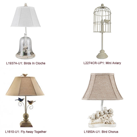 Bird Accent Lamp Prepack Larger Image